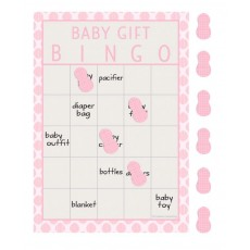 Little Peanut Girl Bingo Party Games