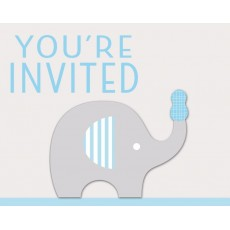 Little Peanut Boy You're Invited Invitations