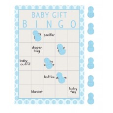 Little Peanut Boy Bingo Party Games
