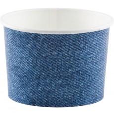Blue Bandana Cowboy Treat Cups Favour Boxes