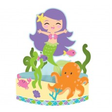 Mermaid Friends Honeycomb Centrepiece