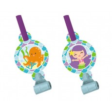 Mermaid Friends with Medallions Blowouts