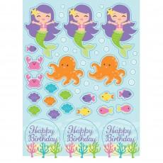 Mermaid Friends Sticker Sheets Favours