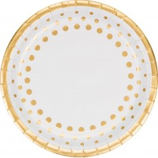 Gold Sparkle & Shine Dinner Plates