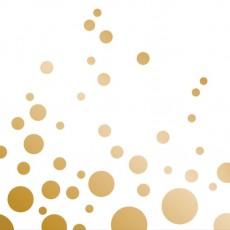 Gold Sparkle & Shine Beverage Napkins