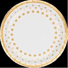 Gold Sparkle & Shine Banquet Plates