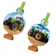 Tractor Time with Medallions Blowouts