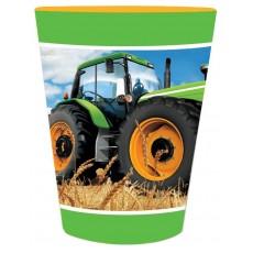 Tractor Time Souvenir Plastic Cup