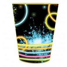 Happy Birthday Glow Party Souvenir Plastic Cup