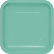 Green Fresh Mint  Lunch Plates