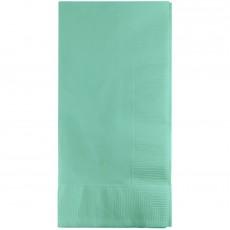 Fresh Mint Green Dinner Napkins 40cm x 40cm Pack of 50