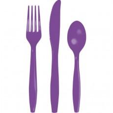 Purple Amethyst  Cutlery Sets