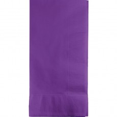 Amethyst Purple Dinner Napkins 40cm x 40cm Pack of 50