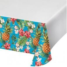 Hawaiian Party Decorations Aloha Pineapple Flower Plastic Table Covers