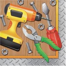Handyman Tools Lunch Napkins
