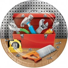 Handyman Tools Paper Lunch Plates