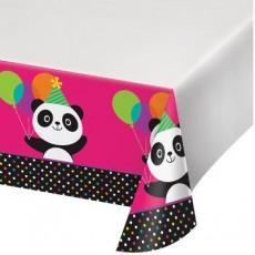 Panda - Monium Plastic Table Cover