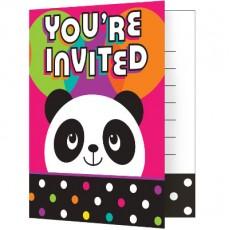 Panda - Monium Invitations
