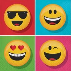 Emoji ons Lunch Napkins
