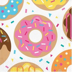 Donut Time Lunch Napkins