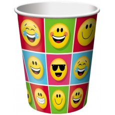 Emoji ons Paper Cups