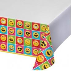 Emoji Plastic Table Cover