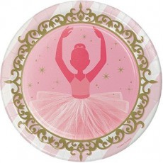 Twinkle Toes Party Supplies - Dinner Plates Paper