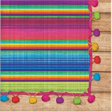 Mexican Fiesta Serape Lunch Napkins Pack of 16