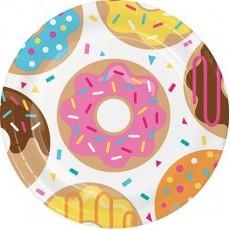 Donut Time Dinner Plates