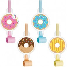 Donut Time Multi Coloured  Blowouts