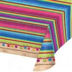Fiesta Serape Plastic Table Cover