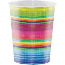 Caliente Serape Plastic Cups