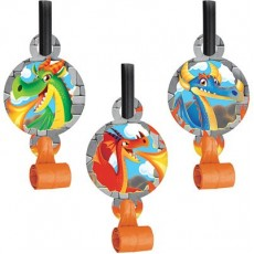 Dragons Multi Coloured  Blowouts