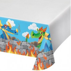 Dragons Plastic Table Cover