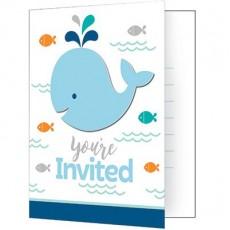 Lil Spout Blue  Invitations