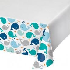 Lil Spout Blue  Plastic Table Cover