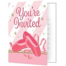 Twinkle Toes Foldover Invitations