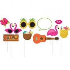 Hawaiian Party Decorations Summer Luau Photo Props 25cm