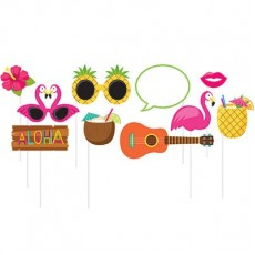 Hawaiian Summer Luau Photo Props
