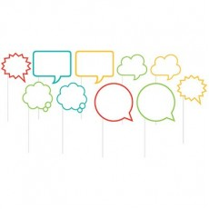 Misc Occasion Speech Bubbles Photo Booth Assorted Photo Props