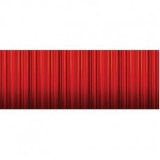 Hollywood Party Decorations - Hollywood Lights Bottom Panel