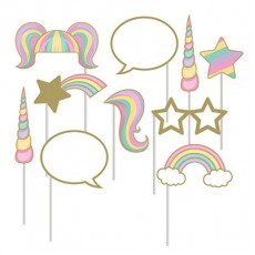 Unicorn Sparkle Party Supplies - Photo Props