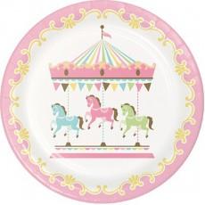 Carousel Dinner Plates