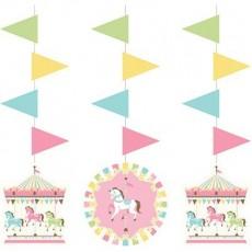 Carousel Hanging Decorations