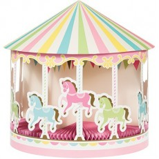 Carousel 3D with Honeycomb Centrepiece