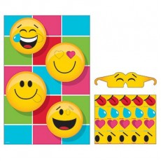 Emoji Pin the Faces On Party Game