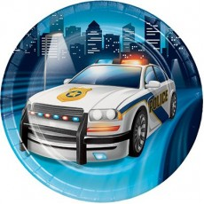 Police Lunch Plates