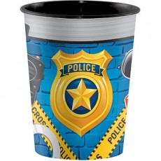 Police Souvenir Cup Plastic Cup