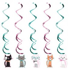 Purrfect Dizzy Danglers Hanging Decorations