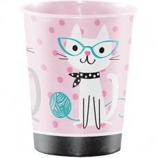 Purrfect Souvenir Favour Plastic Cup